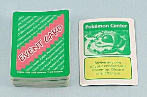 Pokémon Master Trainer Game, Milton Bradley, 1999, 54 Replacement Event Cards (Image1)