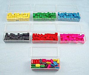 Risk, Wooden Pieces, Game, Parker Brothers, 1968, Replacement Armies (Image1)