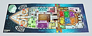 Titanic the Board Game, Universal, 1998, Replacement Game Board (Image1)