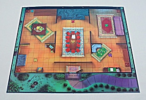 13 Dead End Drive Game, Milton Bradley, 1993, Replacement Game Board