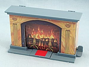 13 Dead End Drive Game, Milton Bradley, 1993, Replacement Fireplace Trap