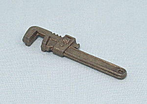 Clue Master Detective Game, Parker Brothers, 1988, Replacement Weapon, Wrench (Image1)