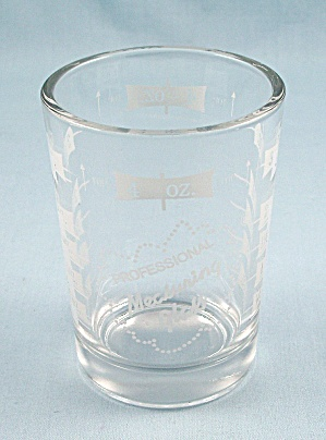 Professional Measuring Glass, 4 Oz., Jigger, Shot Glass, Kitchen