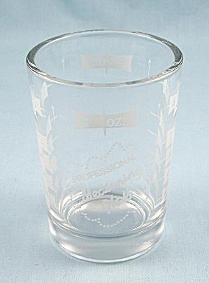 Professional Measuring Glass, 4 Oz., Jigger, Shot Glass, Kitchen  (Image1)