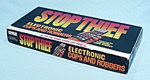 Stop Thief Game, Parker Brothers, 1979