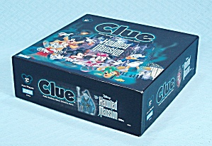 Clue, Disney, The Haunted Mansion Game, Pewter Tokens, 2004 (Image1)