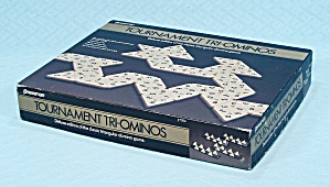 Tri-ominos, Tournament Deluxe Edition Game, Pressman, 1986