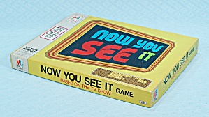 Now You See It Game, Milton Bradley, 1975 (Image1)