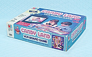 Candy Land VCR Board Game, Milton Bradley, 1986 (Image1)