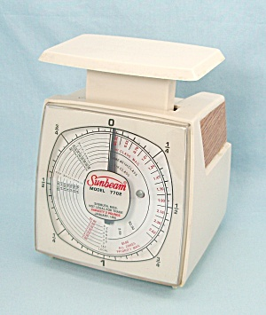 Sunbeam Model 7702, Two Pound Postal Scale, 1995