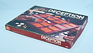 Deception Game, Milton Bradley, E.S. Lowe, 1975	 (Image1)