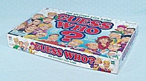 Guess Who? Game, Milton Bradley, 1998