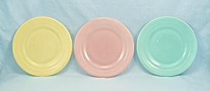 3 – Moderntone, Little Hostess, Pastel Platonite Plates, Hazel Atlas (Image1)