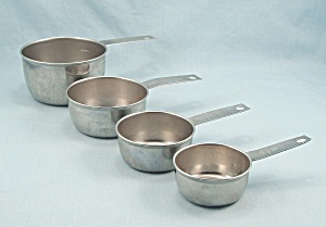 Foley - Measuring Cups Set, Stainless Steel, 4 Sizes