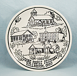 Sugar Maple Festival- Bellbrook, Ohio - Commemorative Plate - 1982/limited