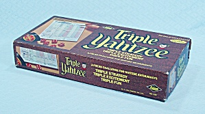 Triple Yahtzee Game, E. S. Lowe, 1972