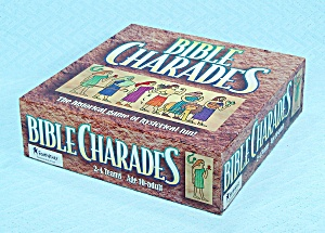 Bible Charades Game, Cook Communications, 1995, Nib