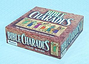 Bible Charades Game, Cook Communications, 1995, NIB (Image1)