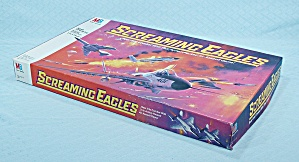 Screaming Eagles Game, Milton Bradley, 1987