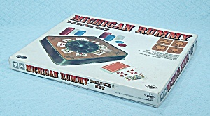 Michigan Rummy Game, Deluxe Set, E. S. Lowe, 1970