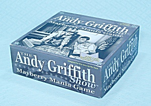 The Andy Griffith Show Mayberry Mania Game, Hometown Tv, 2002