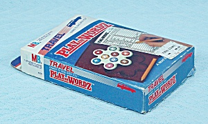 Play On Wordz Travel Game, Milton Bradley, 1986