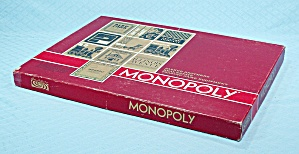 Monopoly Game, Parker Brothers, 1964