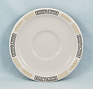 Walker China Saucer, Esquire