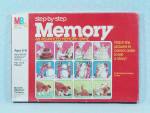 Click to view larger image of Step-by-Step Memory Game, Milton Bradley, 1983 (Image2)