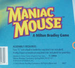 Click to view larger image of Maniac Mouse Game, Milton Bradley, 1993, NIB (Image5)
