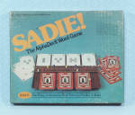 Click to view larger image of SADIE! The AlphaDeck Word Game, Harper & Row, 1976	 (Image2)