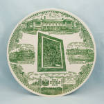 Click here to enlarge image and see more about item 392TE: PYTHIAN Sisters Home, Medina, Ohio – 1968 Collector Plate