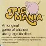 Click to view larger image of Pig Mania Game, David Moffat, 1977 (Image7)