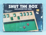 Click to view larger image of Shut the Box Game, Drybranch Inc., 1986 (Image2)