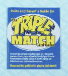 Click to view larger image of The Triple Challenge Board Game, NIB and The Triple Match Card Game, 2001 (Image5)