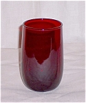 Click here to enlarge image and see more about item TE001: Royal Ruby -  Juice Tumbler- Anchor Hocking