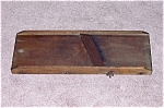 Click here to enlarge image and see more about item TE0032: Primitive Vintage Wood -  Slaw / Cabbage Cutter - B