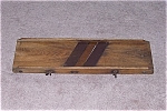 Click here to enlarge image and see more about item TE0033: Primitive Vintage Wood - Slaw / Cabbage Cutter - C