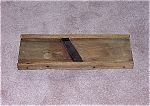 Click here to enlarge image and see more about item TE0035: Primitive Vintage Wood Cabbage Cutter - E