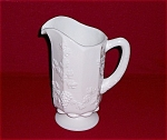 Click here to enlarge image and see more about item TE0040: Paneled Grape � WESTMORELAND � PATTERN 1881- PITCHER