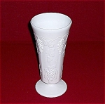 Click here to enlarge image and see more about item TE0056a-c:  Large Colony  Harvest Grapes Milk Glass Vase- Indiana Glass Co.