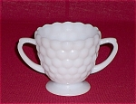 Click here to enlarge image and see more about item TE0060: Bubble  Sugar Bowl � Anchor Hocking Co.