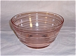 Click here to enlarge image and see more about item TE0115: Pink  Depression Mixing Bowl *