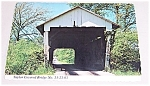 Post Card – Covered Bridge – Fairfield Co. OHIO – Taylor