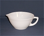 Federal Glass � Batter Bowl / Spout
