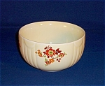 Click here to enlarge image and see more about item TE0233: Hall Mixing Bowl –Flowers