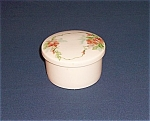 Click here to enlarge image and see more about item TE0260: Dresser / Decorated Powder Jar
