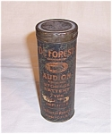 Click to view larger image of Deforest Tube Tin - Advertising (Image1)