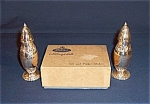 Click to view larger image of Shakers - Trent Silver Plate Salt & Pepper, in Box (Image1)