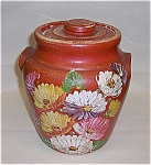 Click here to enlarge image and see more about item TE0440: Ransburg Cookie Jar - UHL - RED